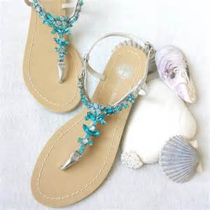 wedding shoes sandals something blue ombre wedding sandals shoes for destination wedding with rhinestone