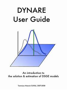 Dynare User Guide