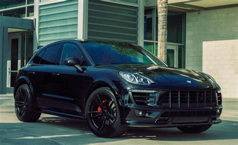 Porsche Macan Modification by Blacked Out Techart Porsche Macan By Tag