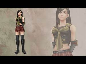 Final Fantasy Type 0 Tifa Lockhart DLC Mod Dissidia 012
