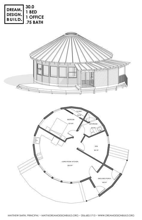 pin  dreamdesignbuild  yurt designs tiny cabin design  house plans yurt