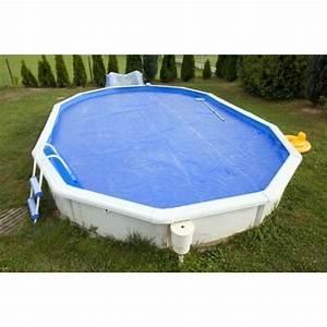 Une bâche pour piscine hors sol