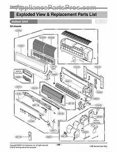 Parts For Lg Lmn090he    Awhaeus  Section 1 Parts