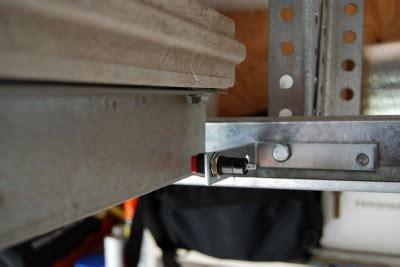 diy garage door open indicator