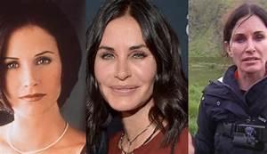 """""""Mónica"""" de Friends le hizo un cambio radical a su rostro ..."""