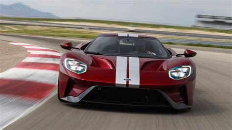 2017 Ford Gt Supercar Front
