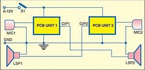 Intercom Using Lm386