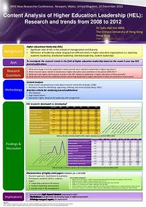Content Analysis of Higher Education Leadership: Research ...
