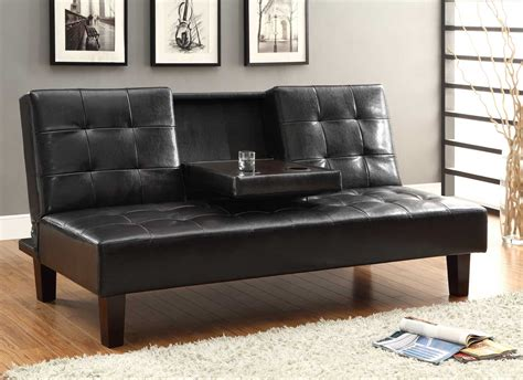 Click Clack by Homelegance Reel Click Clack Sofa Bed Brown