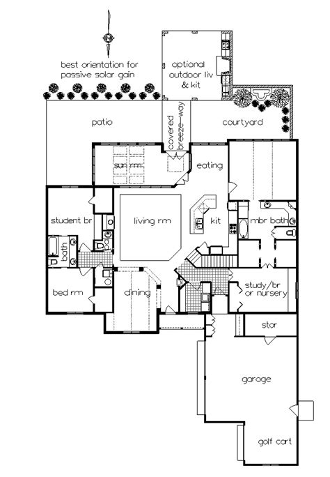 Outdoor Living Floor Plans by Craftsman House Plan With 4 Bedrooms And 2 5 Baths Plan 4746