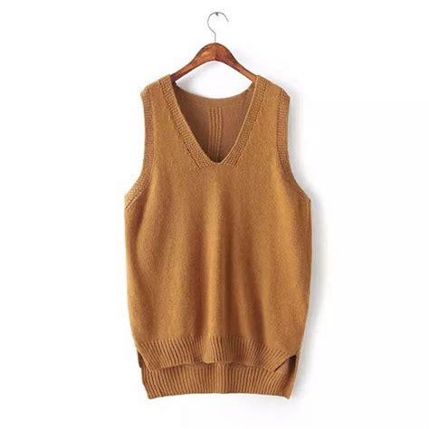 sweater cheap get cheap cotton sweater vests aliexpress com