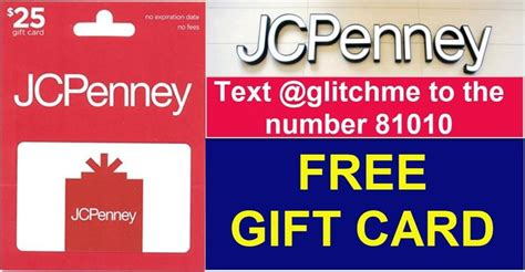 You can apply for a jcpenney credit card online or in person at your nearest jcpenney store with a valid photo id. FREE $25.00 JCPENNEY Gift Card GO GO GO!   Jcpenney gifts, Gift card, Cards
