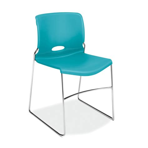 white folding chairs hon high density stacking chair atwork office