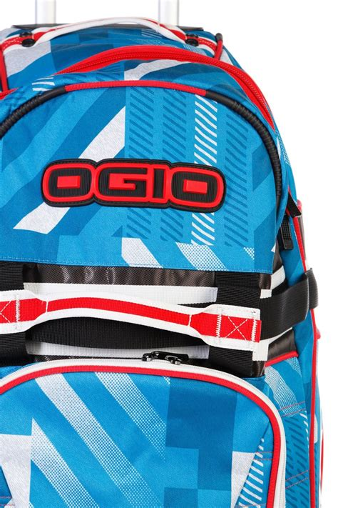 ogio motocross gear bags ogio rig 9800 f11 blue gear bag mx dirt bike motocross