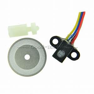 Photoelectric Speed Sensor Encoder Coded Disc Code Wheel