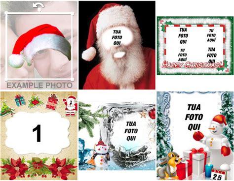 cornice di natale per foto fotomontaggi e cornici per natale fotoeffetti