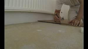 Klick Vinylboden Verlegen : klick vinylboden verlegen so geht es am schnellsten vinyl integrierter trittschalld mmung youtube ~ Watch28wear.com Haus und Dekorationen
