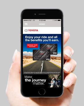 Toyota Rewards Visa by Toyota Rewards Visa 174 The New Toyota Card App Is Here