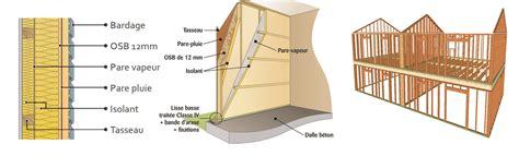 isolation dans la construction ossature bois