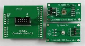 Electronics Parts List  U2014 Colorimeter User Manual