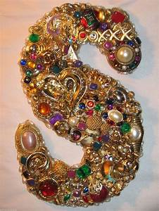 47 best jeweled monogram letters images on pinterest With jeweled monogram letters