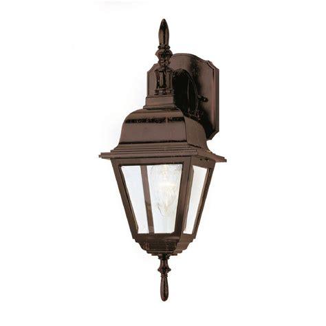 bel air lighting bel air lighting 1 light rust outdoor wall lantern 4411 rt
