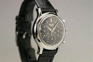 1950 Heuer Chronograph Watch For Sale