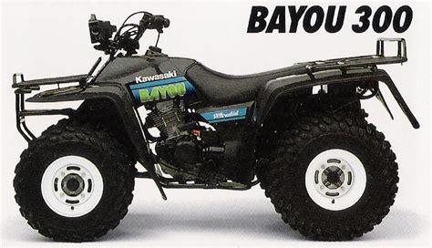 2001 Kawasaki Bayou 300 by 2001 Kawasaki Bayou 300 4x4 Pictures To Pin On