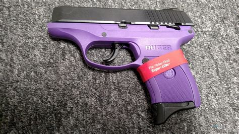 colored pistols lc9s purple colored frame 9mm for sale