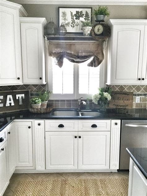 decor above kitchen cabinets best 25 shelf window ideas on kitchen Farmhouse