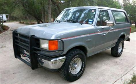 sell   ford bronco custom sport utility  door