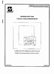 Napco Magnum Alert 1000e Security System Installation