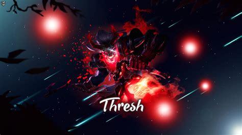 blood moon thresh lolwallpapers