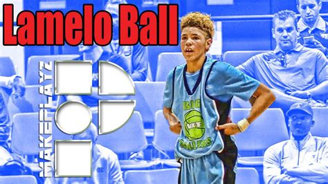 grader lamelo ball dropped    comp  year