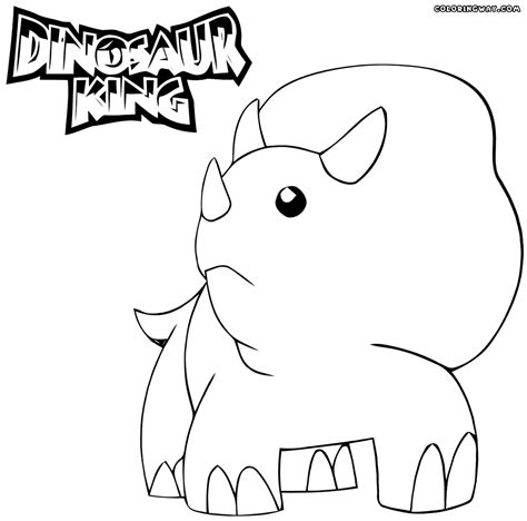 dino coloring pages the dinosaur king coloring pages coloring home