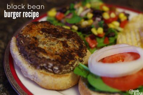 black bean burger recipe black bean burger recipe budgetmeals info