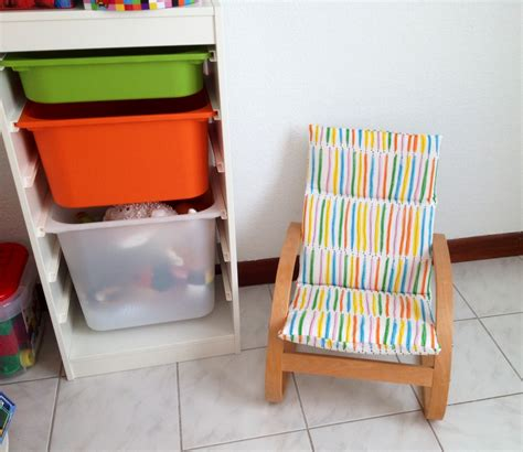 nouvelle housse pour fauteuil poang ikea enfant ocni et cie
