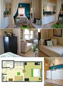 studio apartment idee rangement pinterest petits With ordinary meubles pour petits espaces 6 gain de place des rangements dans les toilettes