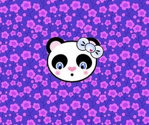 Kawaii Panda Wallpaper - WallpaperSafari