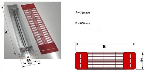 le infrarouge philips vitae 500w face infradesign l