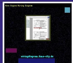 Hino Engine Wiring Diagram  Wiring Diagram 174946