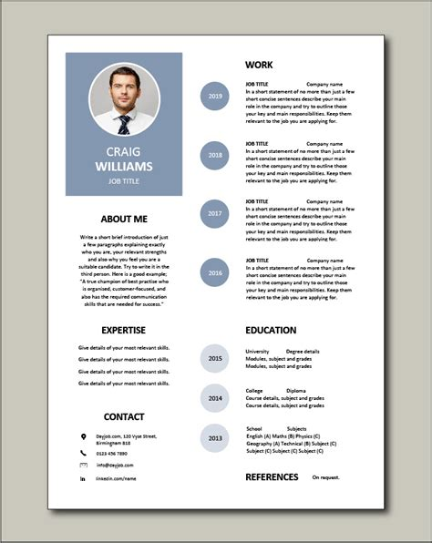 There's only one honest answer… it depends. Premium CV template 57