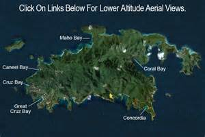 Cruz Bay St. John Virgin Islands Map