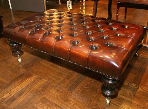 tufted leather ottoman coffee table leather tufted ottoman coffee table coffee table design