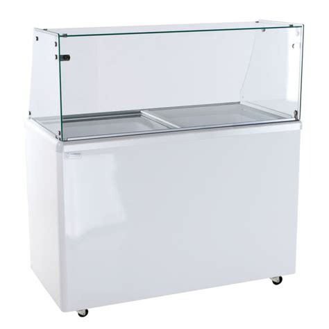 excellence ice cream dipping cabinet excellence edc 8 ice cream freezer dipping cabinet with