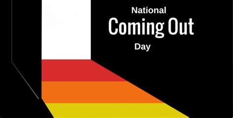 National Coming Out Day in 20182019  When, Where, Why