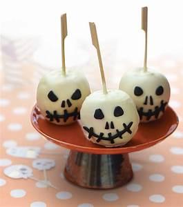 Recette Apéro Halloween : pommes de mort recette halloween gourmand ~ Melissatoandfro.com Idées de Décoration