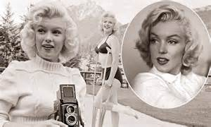 Never before seen images of injured Marilyn Monroe taken ...