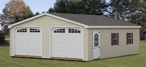 Awesome 2 Car Garage Shed  Iimajackrussell Garages 2