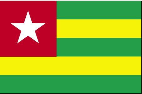 togo flag  description